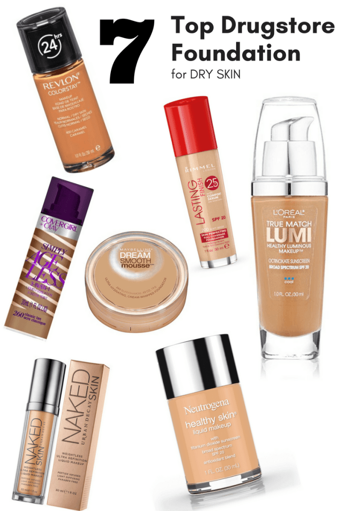 Top 7 Drugstore Foundation for Dry Skin Beauty That