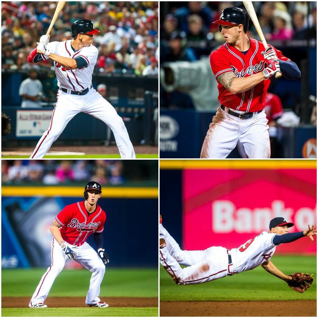 Happy Birthday Andrelton And Jordan Sept 4 Atlanta Braves Baseball Braves Braves Baseball
