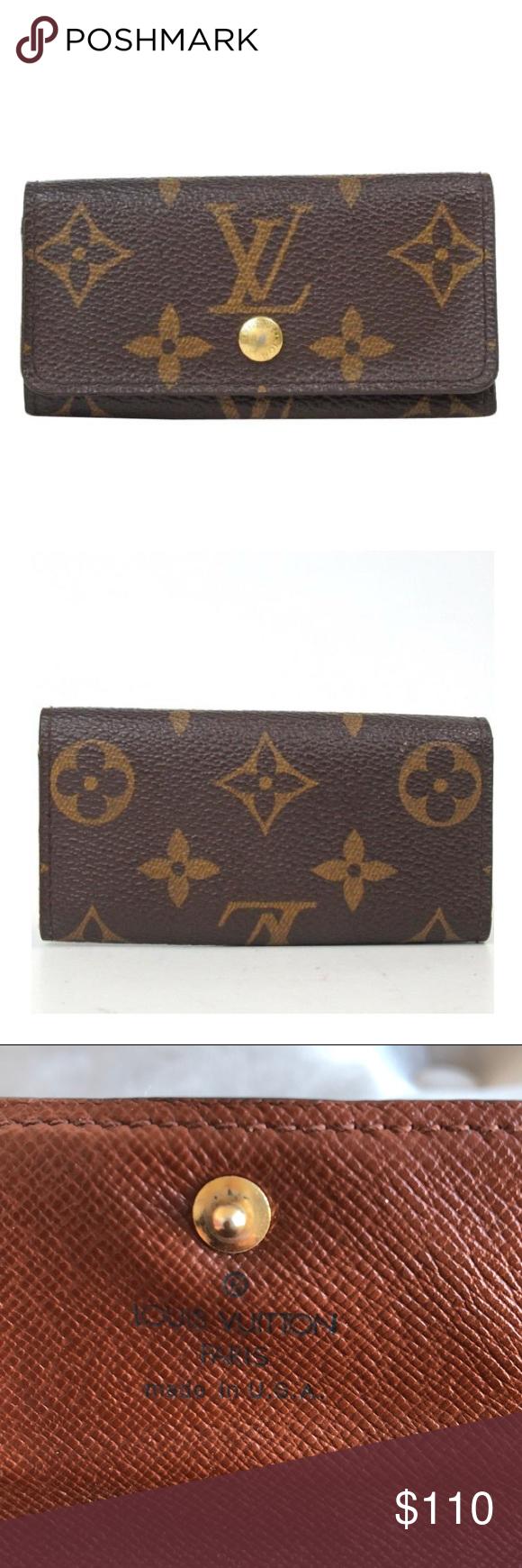 e13d539aaec2 Louis Vuitton Wallet Keychain Louis Vuitton Keychain wallet. Worn with lots  of love. I