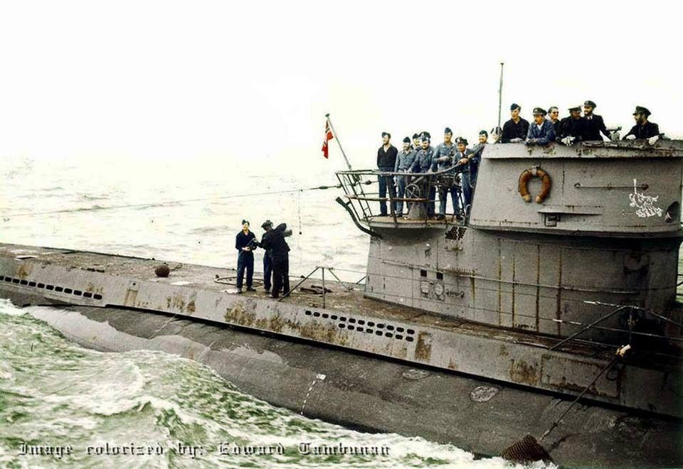 Le U-618 était un type VIIC U-boat allemand Kriegsmarine ...