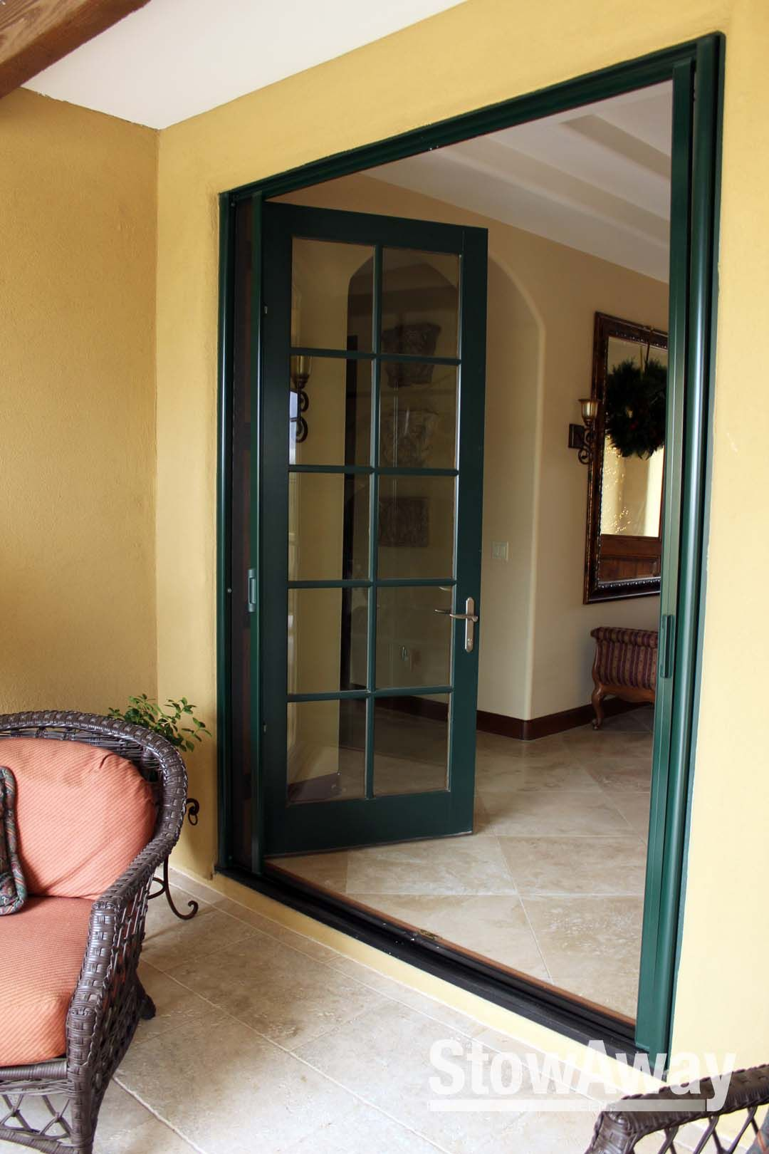 Retractable Screens For Your Door To Keep The Bugs Out And Let The