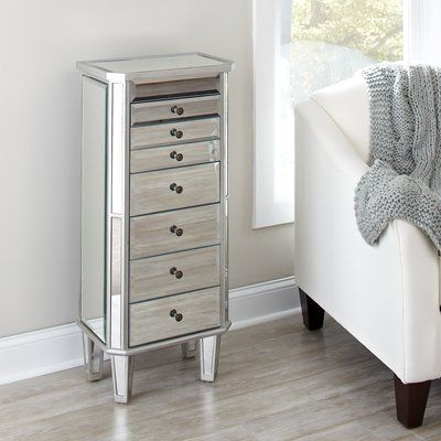 Pin By Angela Julienne Navarrete On Jewelry Cabinet Mirror Jewelry Armoire White Jewelry Armoire Classy Furniture