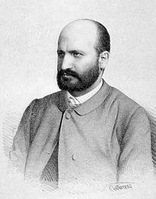 Pedro Antonio de Alarcón writer. Guadix, Spain..