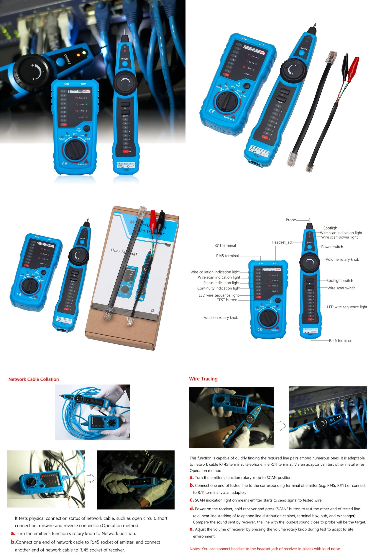 Visit to Buy] Original Bside RJ11 RJ45 Cat5 Cat6 Telephone Wire ...