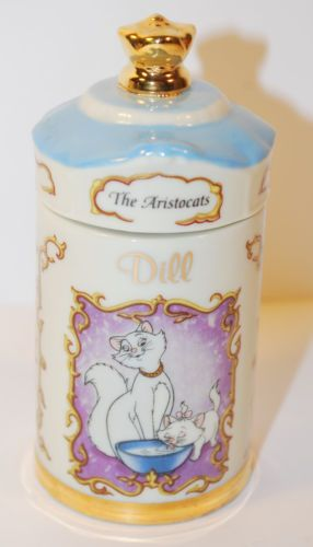 Lenox-Walt-Disney-Fine-Porcelain-Spice-Jar-The-Aristocats-Dill
