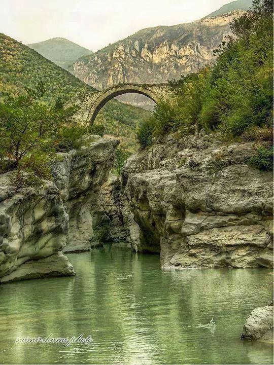 Bridge in Tirana Albania
