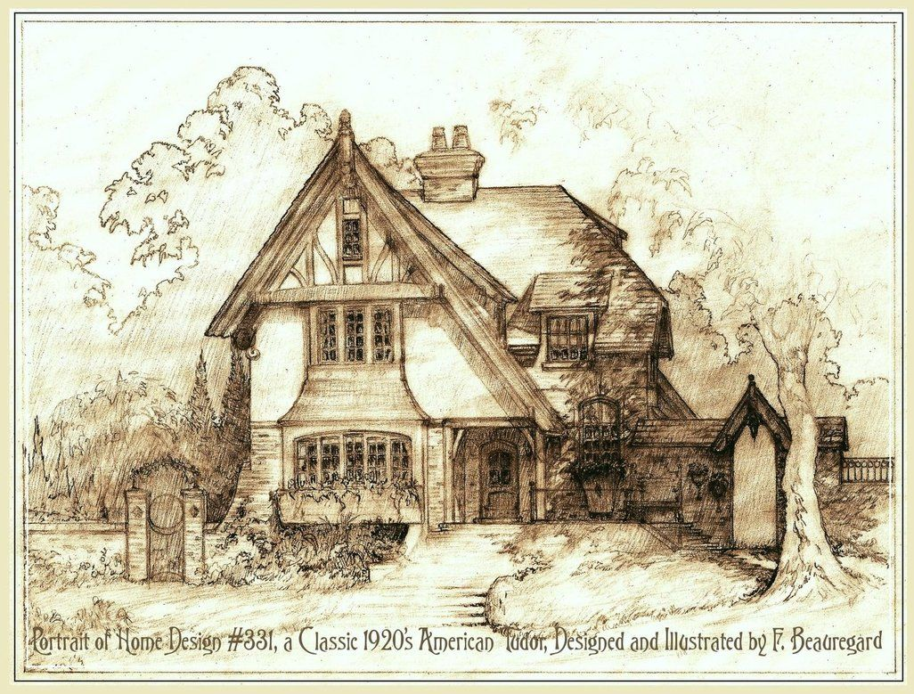 Tudor style cottage house plans house design plans for Tudor cottage plans
