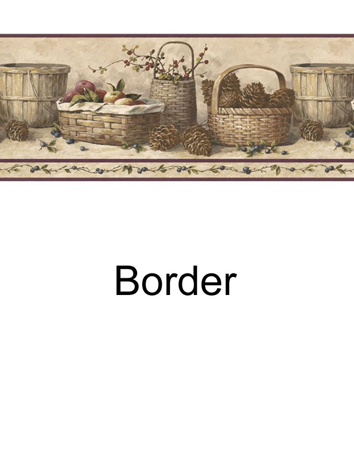 Basket border from wallpaperwholesaler.com