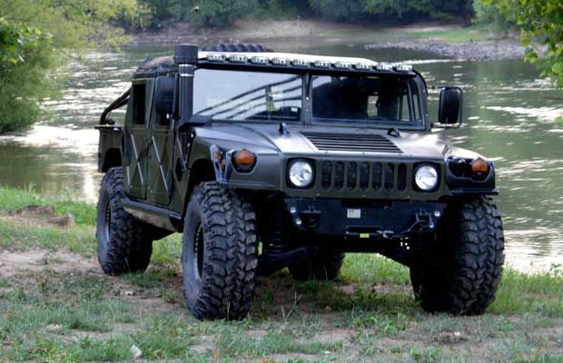 The Original Hummer Military Version Sounds Like Government Is