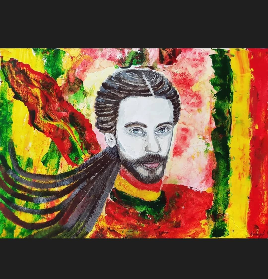 Kirill Akril Bumaga Moskva Decl Kirilltolmackii Art Mysliglubokopokaestsmysl Hudozhnik Prodazha Saatchi Etsy In 2020 Portraiture Art Pop Art Decor Painting