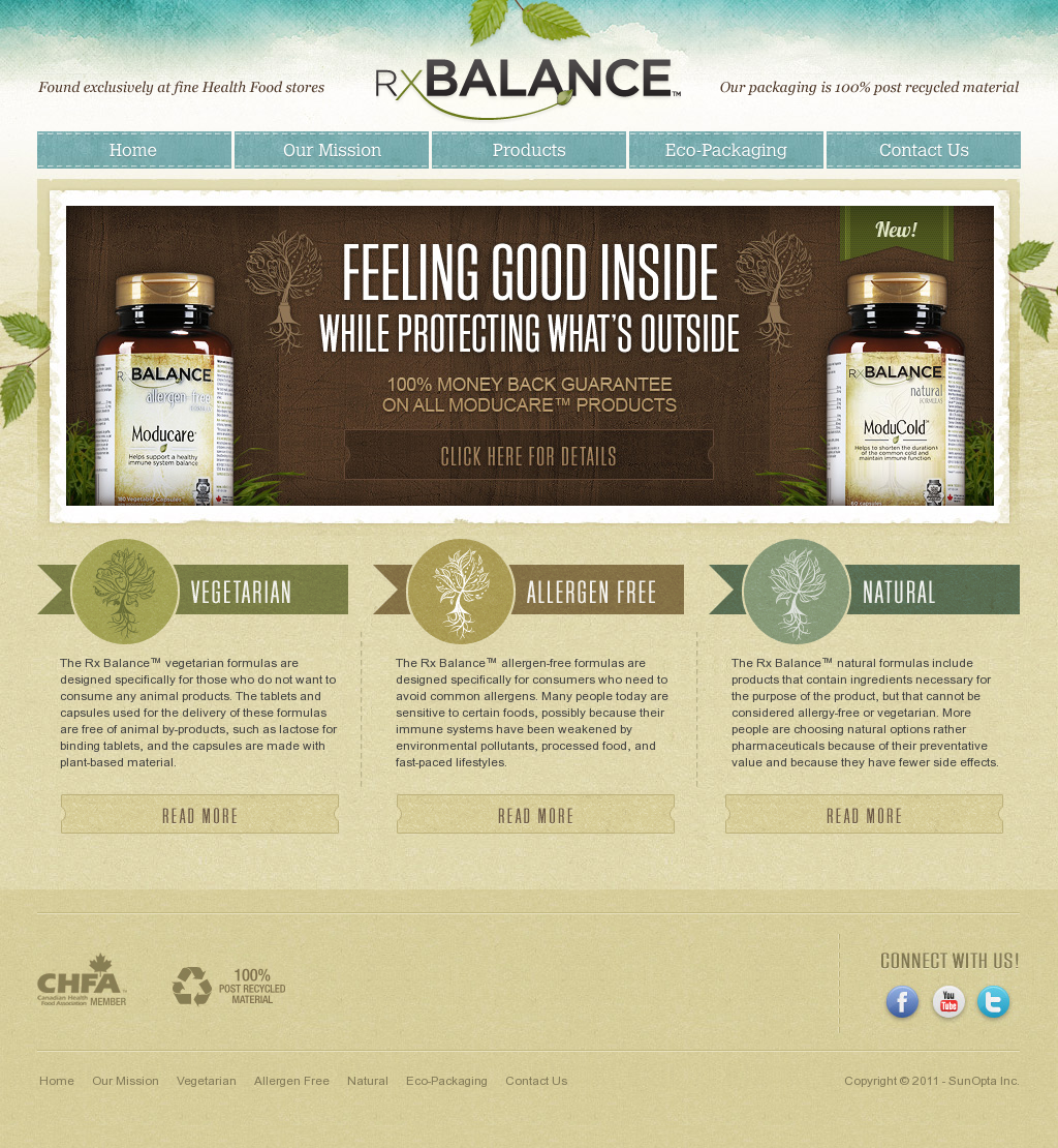 RX Balance | Website Design