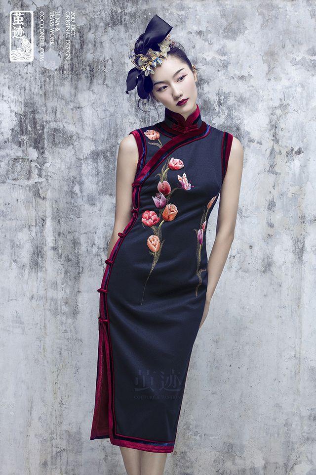 6b7636506 chinese-QiPao-Cheongsam-haute-couture222   Qi Pao in 2019 ...