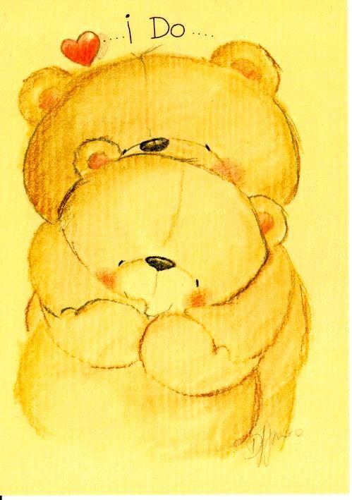 Osos abrazados - Amor   Illustrazioni, Orsacchiotti, Orsi