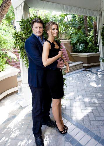 Nathan Fillion & Stana Katic #Castle