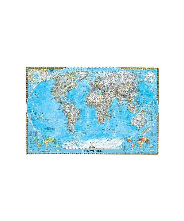 take a look at this poster size world classic laminated on laminated wall maps id=18949