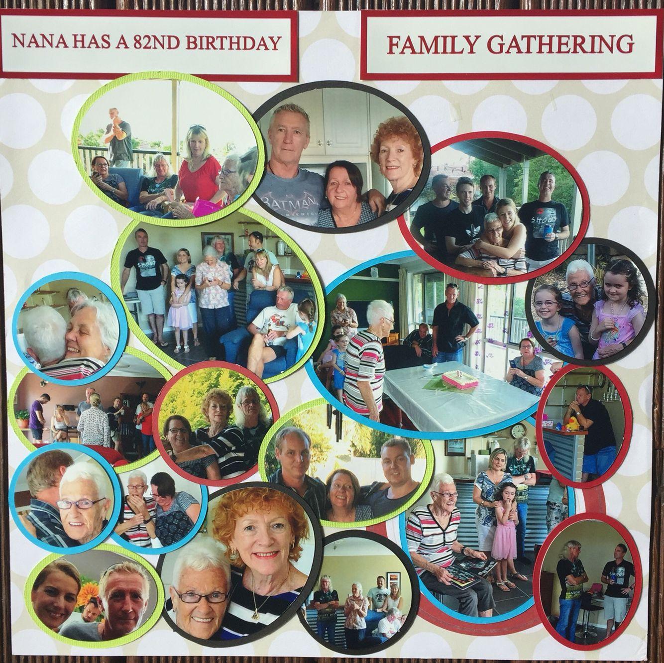 Family Circles By Gillian