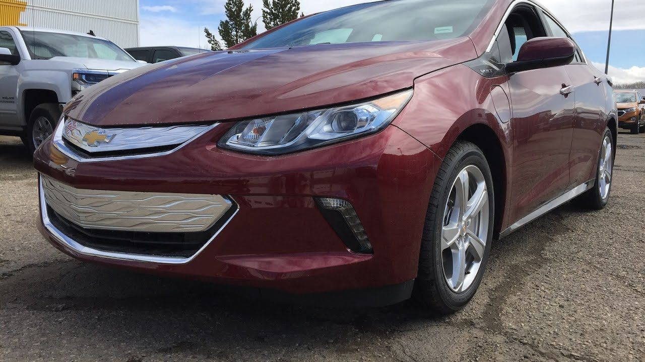 New 2017 Chevrolet Volt For Sale Electic Gas Powered Red