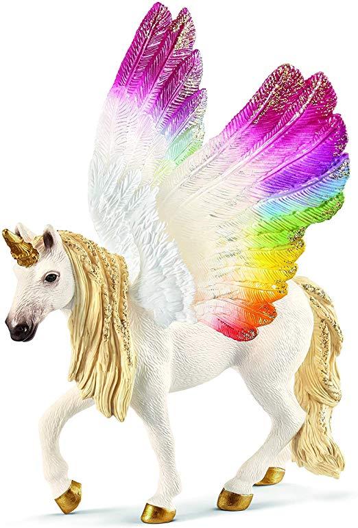 Schleich Winged Rainbow Unicorn Toys & Games
