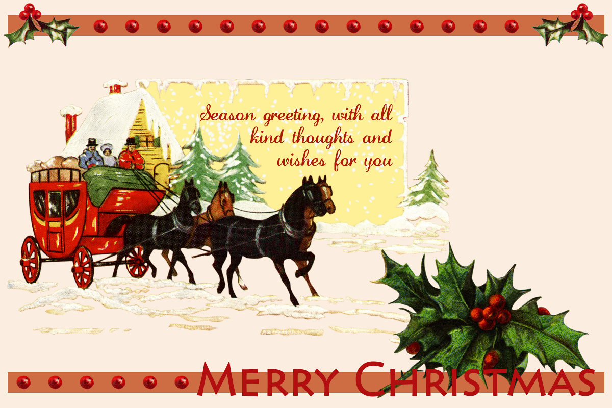 Old time christmas annes creative cornucopia old fashioned old time christmas annes creative cornucopia old fashioned christmas postcard kristyandbryce Image collections