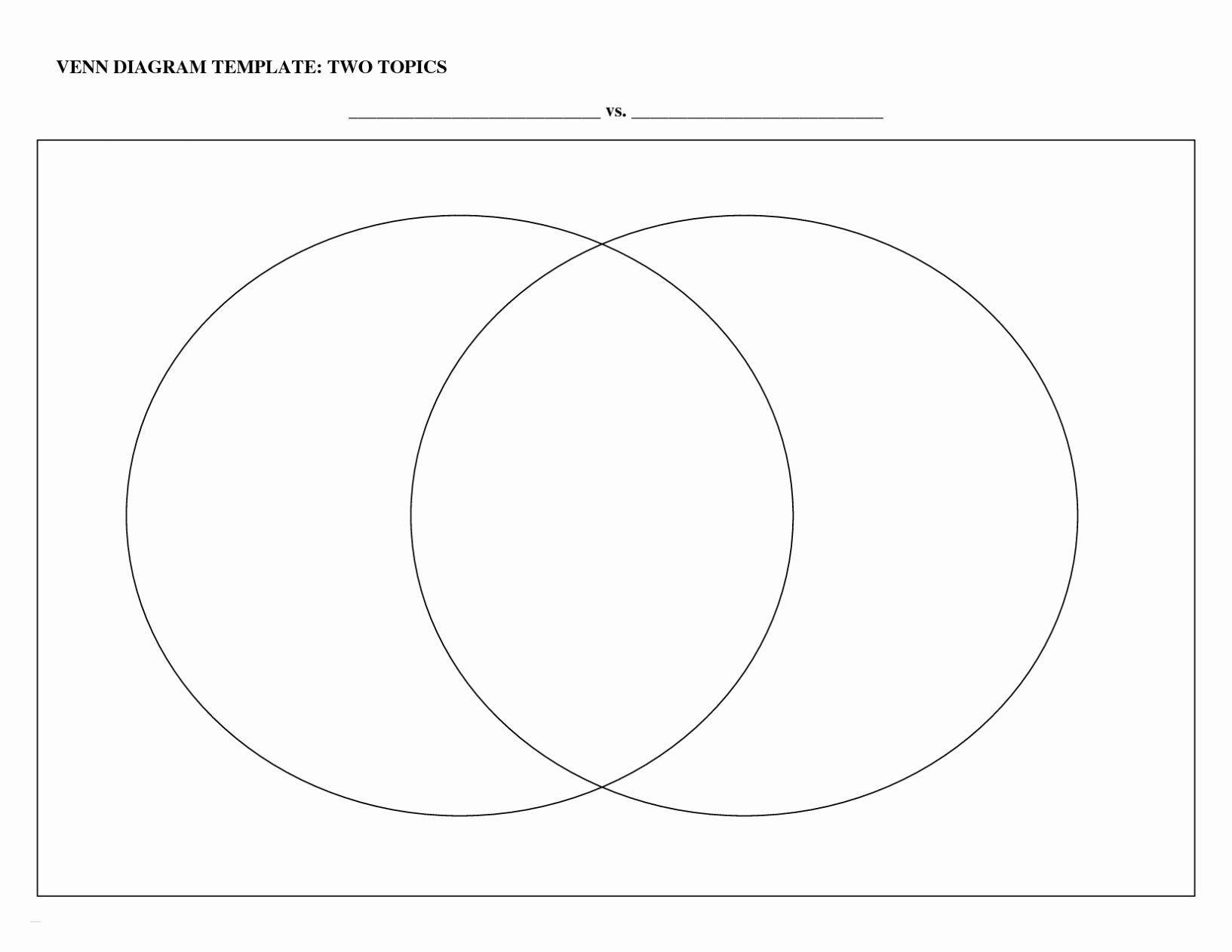 Venn Diagram Template Doc Inspirational Venn Diagram
