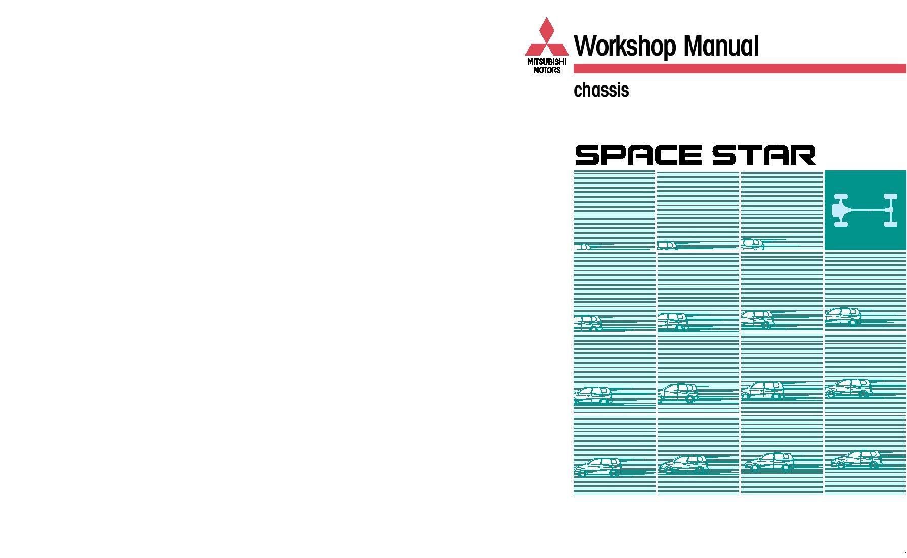 Mitsubishi space star 19992003 full repair service manual