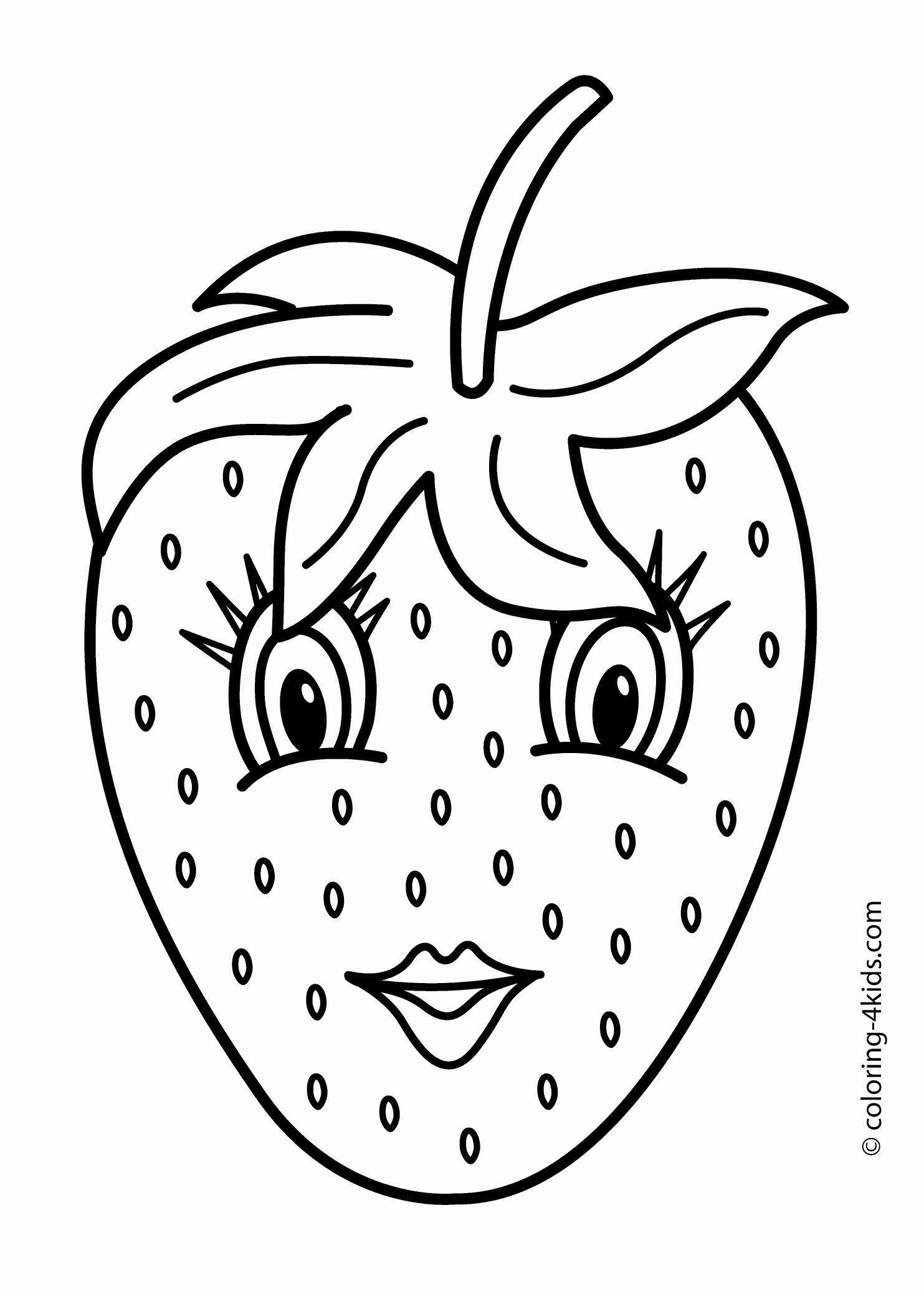 Place Setting Coloring Page Unique Avocado Coloring Pages Fruit