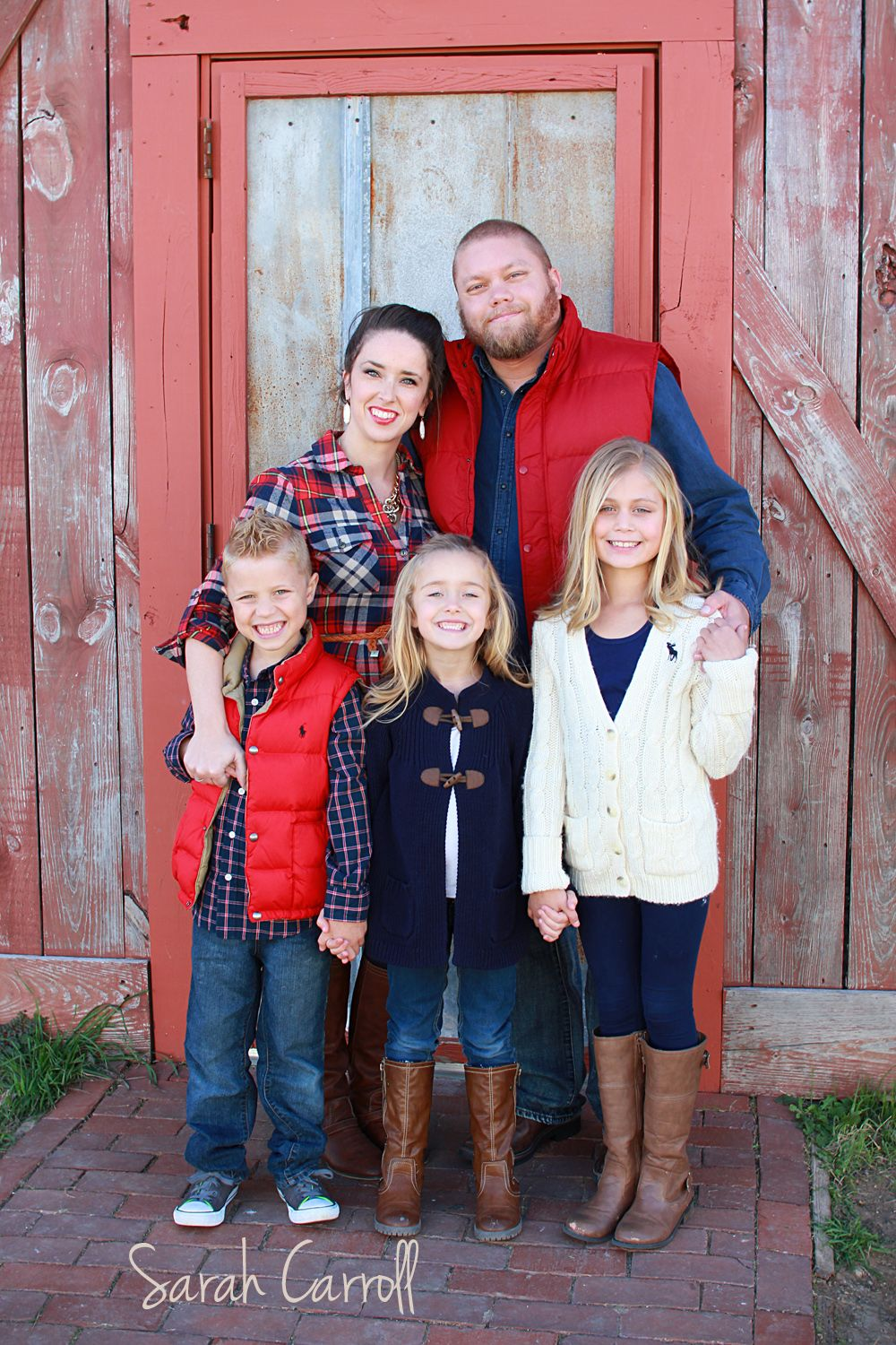 Fall family of 5 poses - family of five photos | Family portrait ...