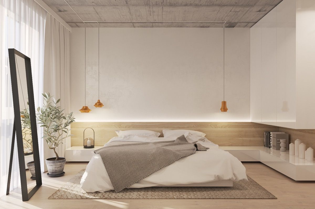 Best The Uniqueness Of Minimalist White Bedroom Designs Which 400 x 300