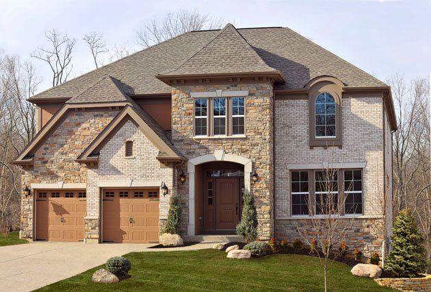 Model brick homes
