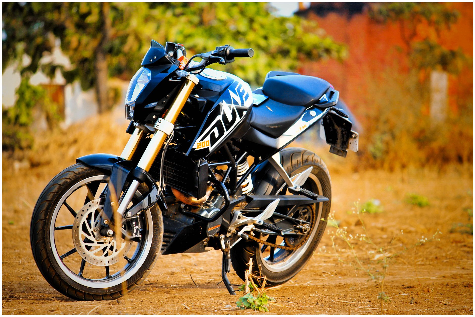 Pin By Arbaz D Prince On Ktm Duke200 Wallpapers Background