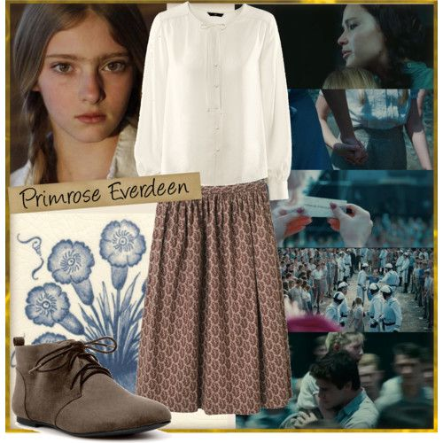 prims costume for the reaping - Primrose Everdeen Halloween Costume