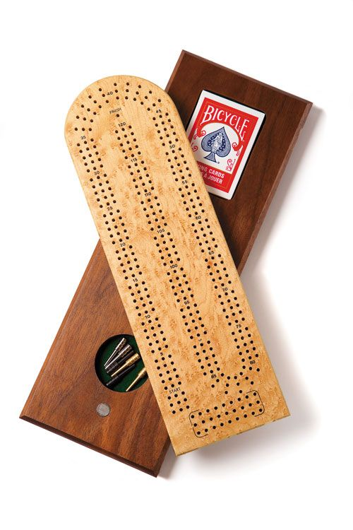 Make A Cribbage Board Over The Weekend Project As Pdf Template
