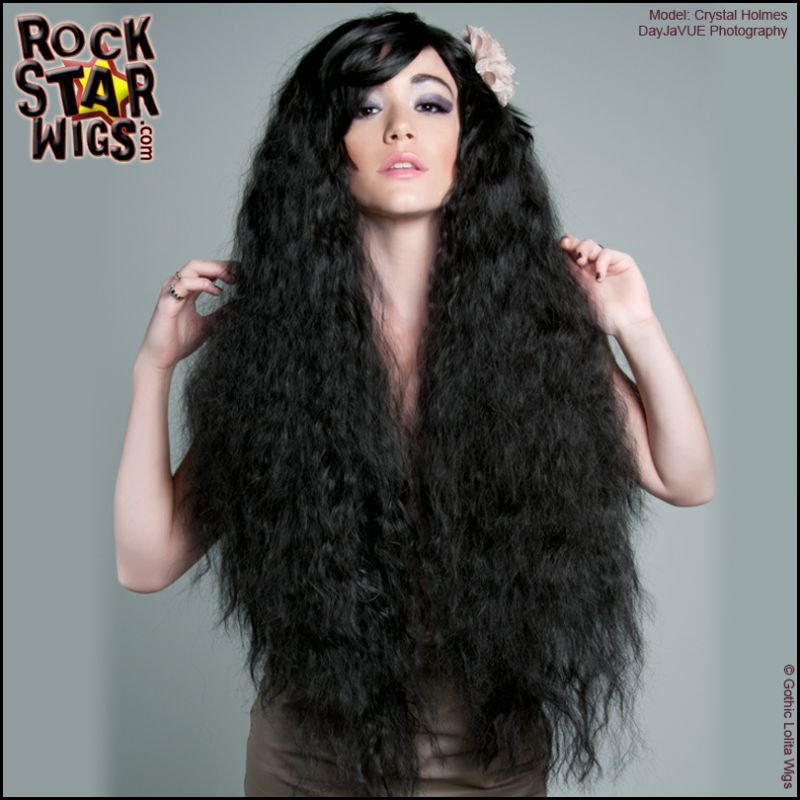 Genuine rockstar wigs big hair drag queen long curly wavy black genuine rockstar wigs big hair drag queen long curly wavy black diana ross wig pmusecretfo Images