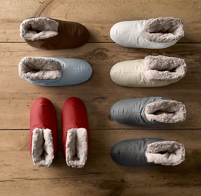 Ultimate Luxury Plush Foot Duvets Down Slippers Plush