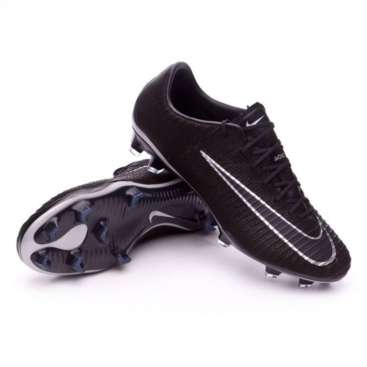 closer at autumn shoes lower price with Mens Nike Mercurial Vapor XI TC 2.0 FG Soccer Cleats Black ...