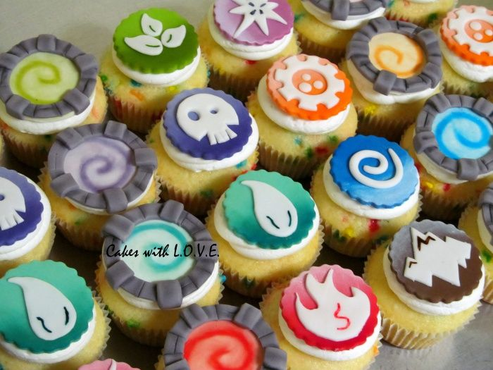 Skylander cupcakes toppers are available for sale on my Etsy store