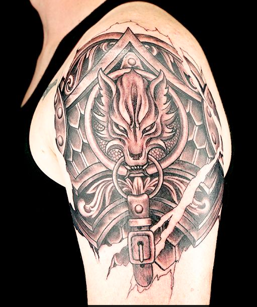 By Mike McAskill Ink Master Tattoos, Armour tattoo