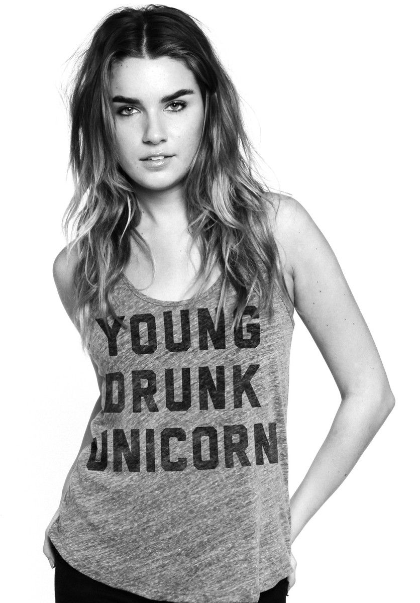 young drunk unicorn