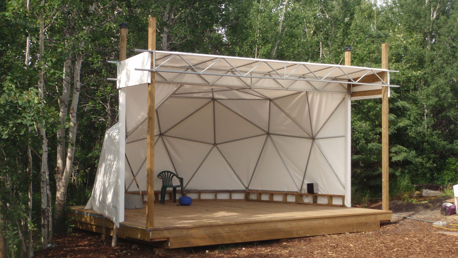 How To Build An Outdoor Stage Google Search Gardening