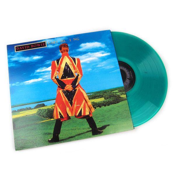 David Bowie Earthling 180g Colored Vinyl Vinyl Lp Record Store Day Record Store David Bowie Vinyl
