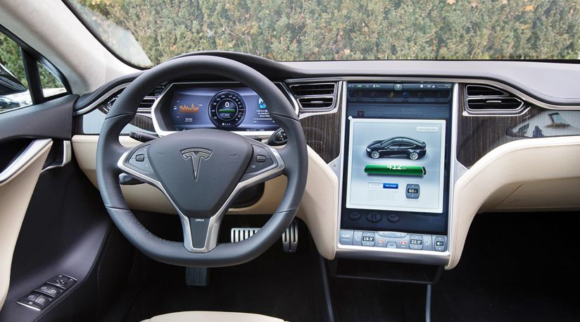 The Minimalist Touchscreen Dominated Cabin Of The All Electric