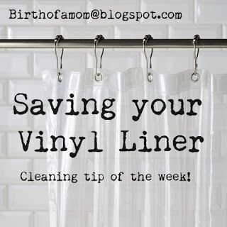 Save Your Vinyl Shower Curtain Liner Mom Bloggers Club Clean