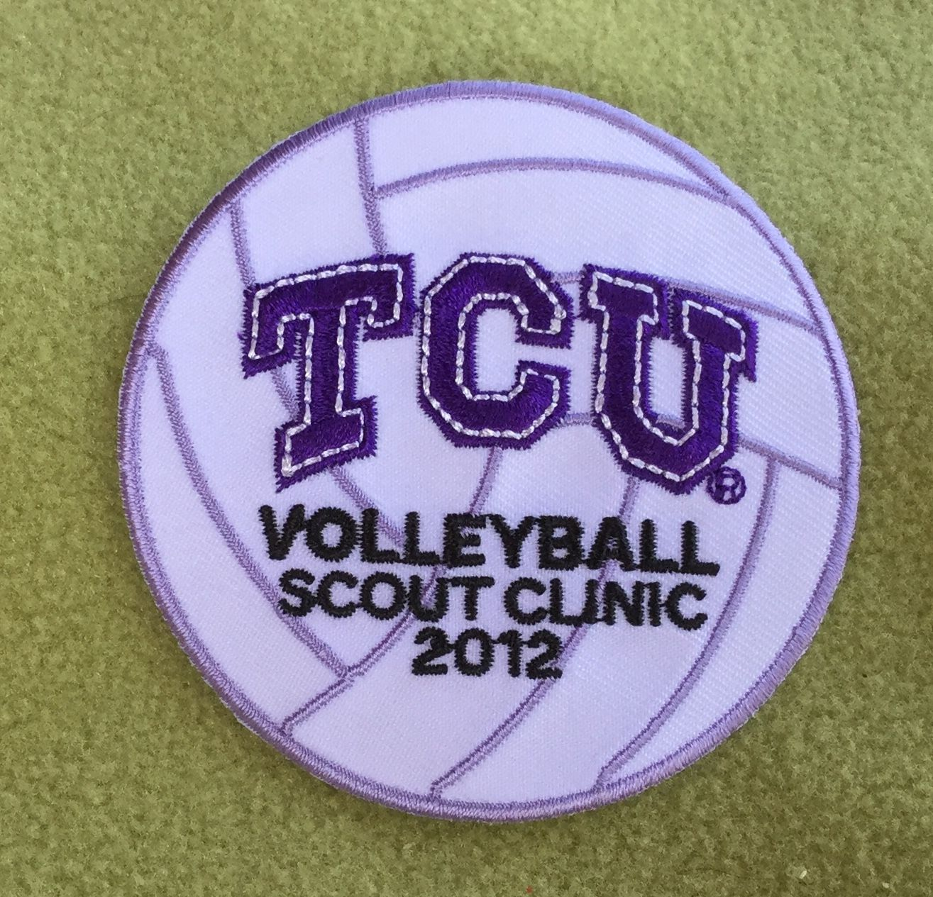 Girl Scout Texas Oklahoma Plains 100th Anniversary Patch Tcu Volleyball Scout Clinic 2012 Thank You Julie Texas And Oklahoma Girl Scouts Tcu Volleyball