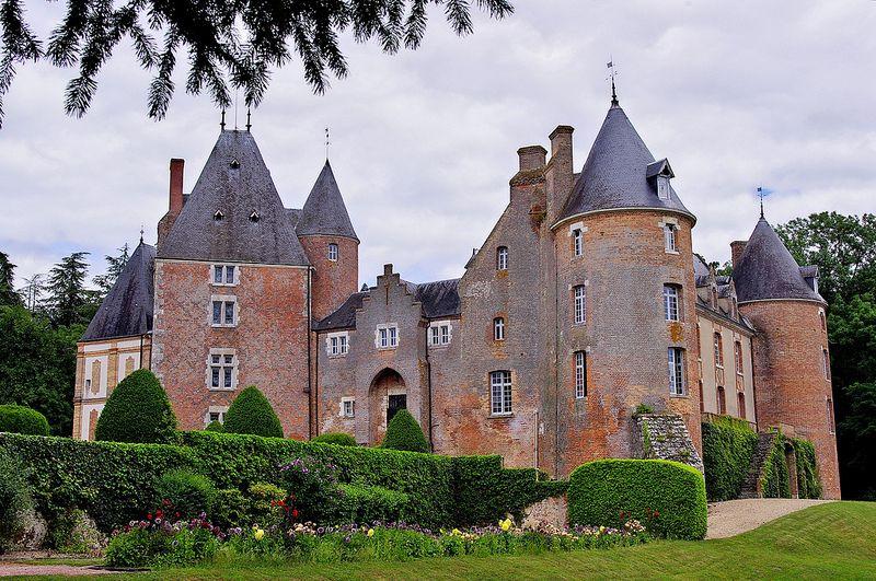 Château de Blancafort (XVe - XVIIe) (Cher) Centre