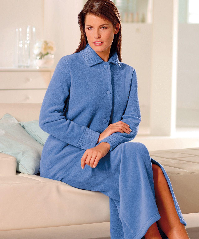 robe de chambre polaire femme longue. Black Bedroom Furniture Sets. Home Design Ideas