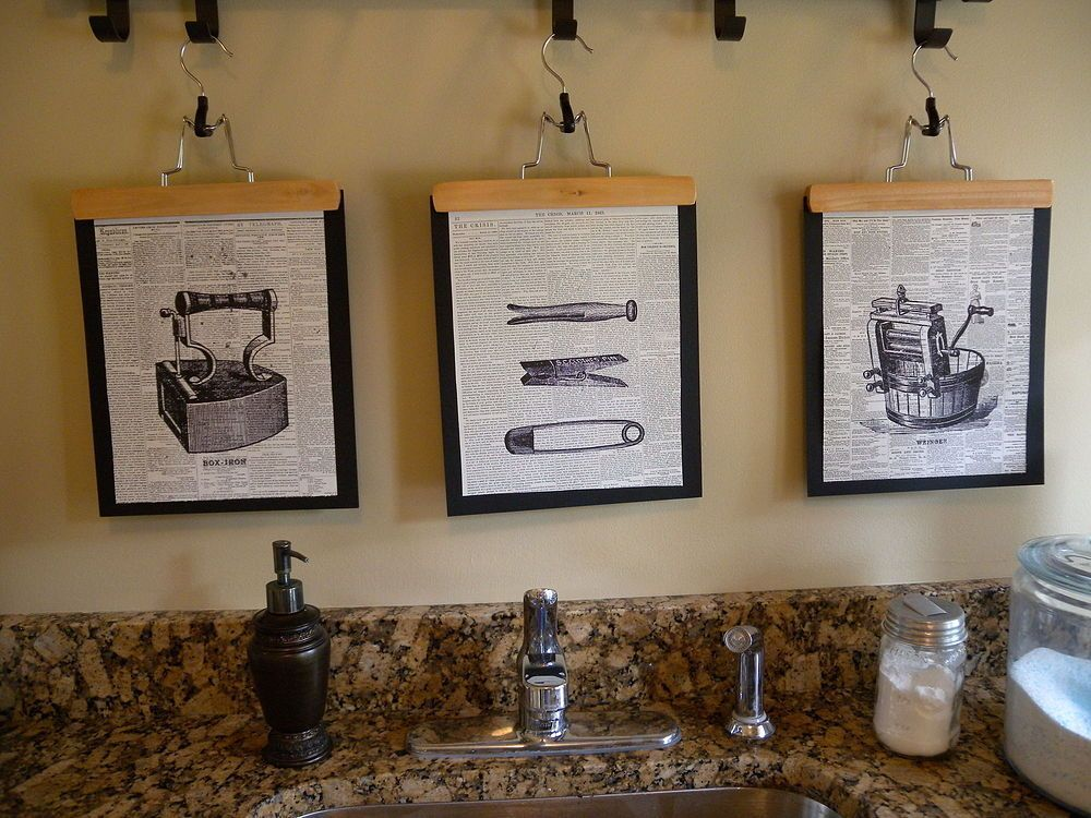 How To make Graphic Laundry Room Art How To make Graphic Laundry Room Art