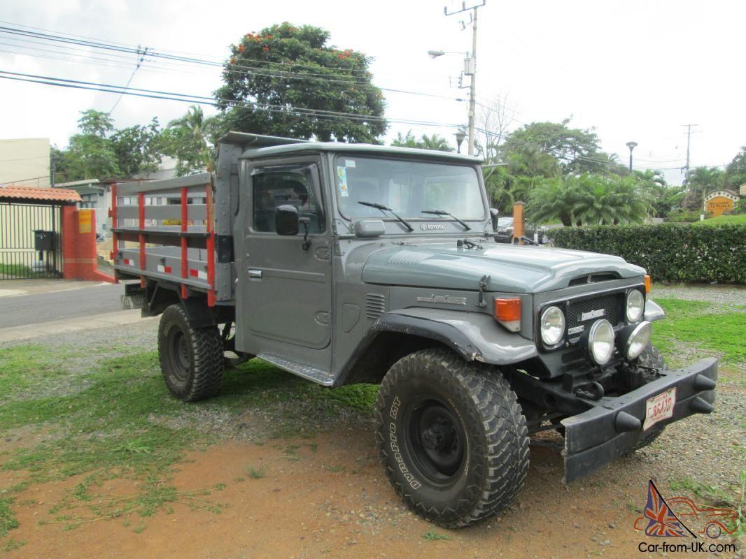 Toyota land cruiser rat rods diesel camper trucks garage