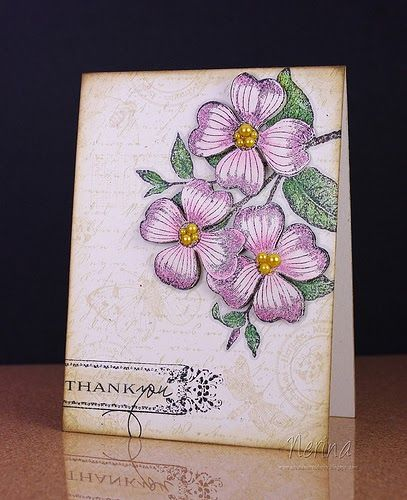 Yes seriously - another card already - but have you seen what's up at the Moxie Fab World??? - they've gone  Fanatical about Botanical  some...