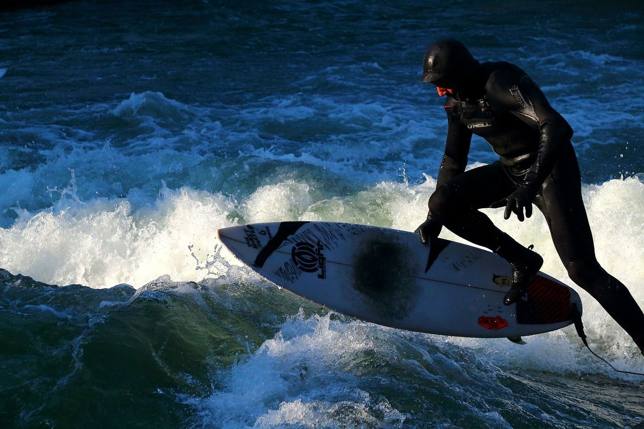 Go Surfing! For a physical high that never seems to fade...