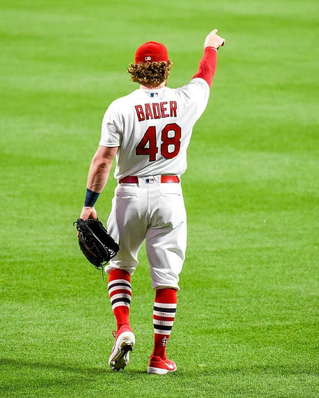 "866dafae Harrison Bader on Instagram: ""Unrelenting #timetofly"" | Cardinals ..."
